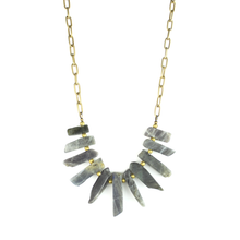BIB Necklace | Labradorite