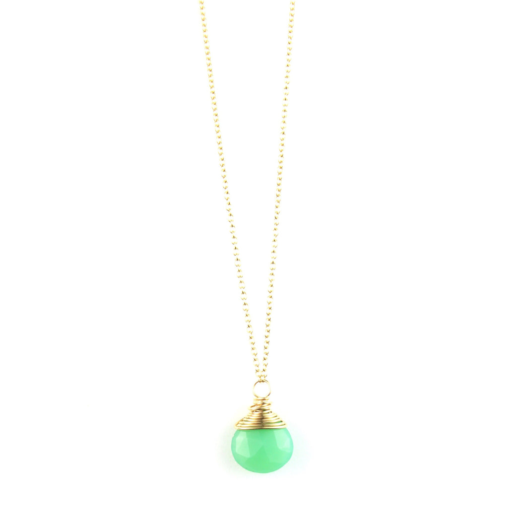 PANTONE Chrysoprase Necklace
