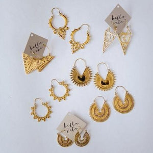 EARRINGS | Brass Hinge Earrings