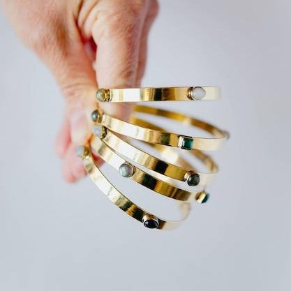 BANGLE | Multiple Gemstone Bangle