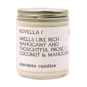CANDLE | Anecdote Candles Novella
