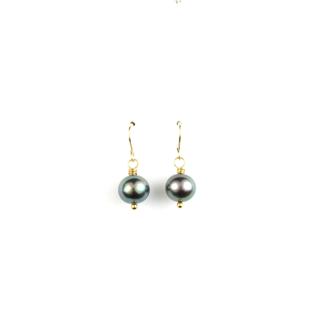 PANTONE Grey Pearl Earrings