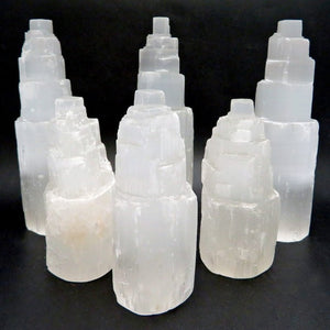 CRYSTALS | Selenite Raw Crystal Tower