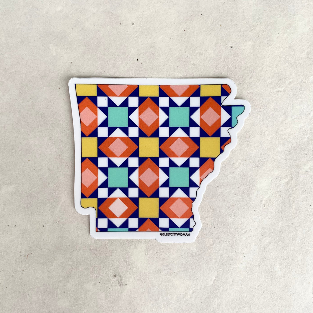STICKER | Arkansas Quilt