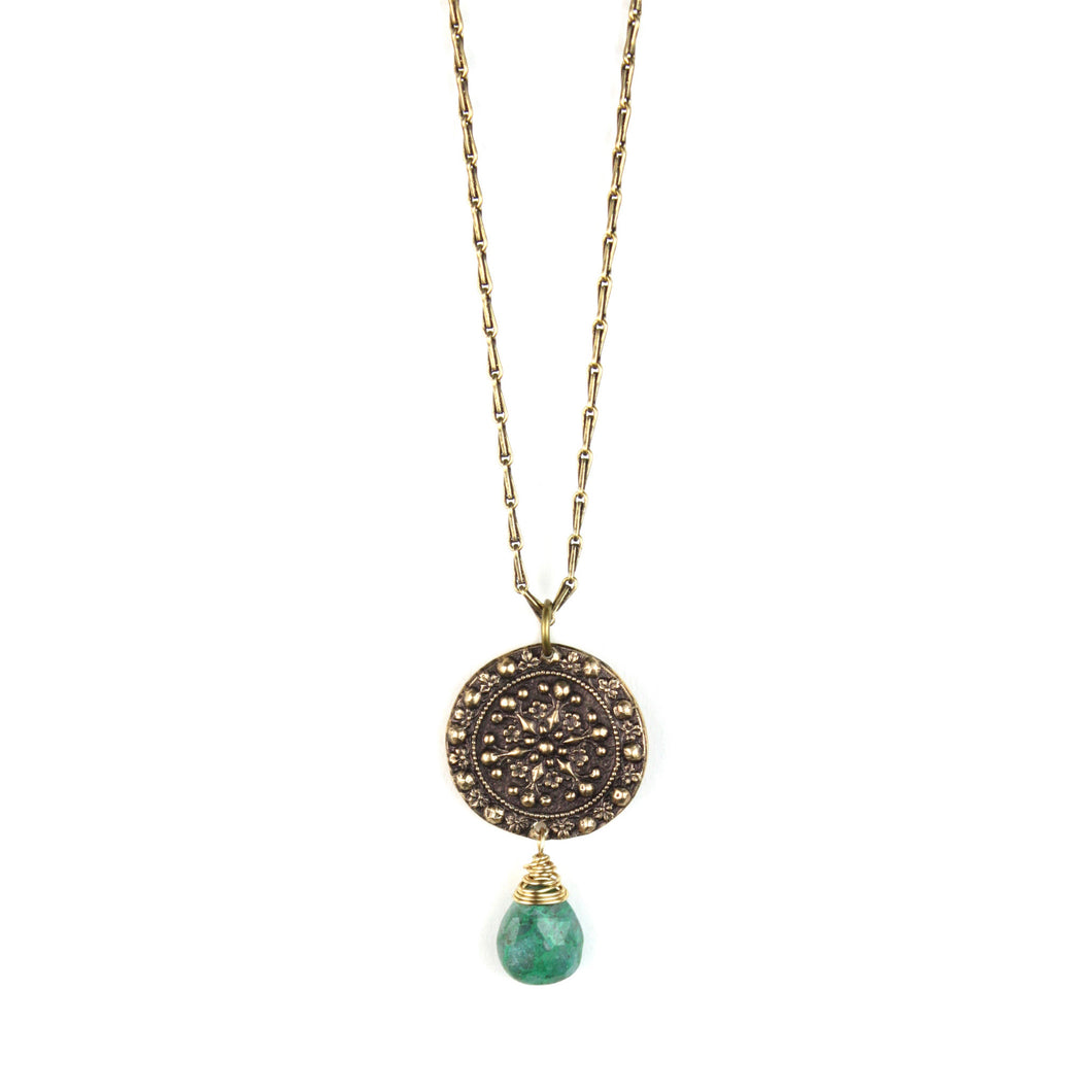 VINTAGE REDUX | MANDALA Necklace