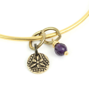 TINY TOKEN Bangle | Dragonfly Flower