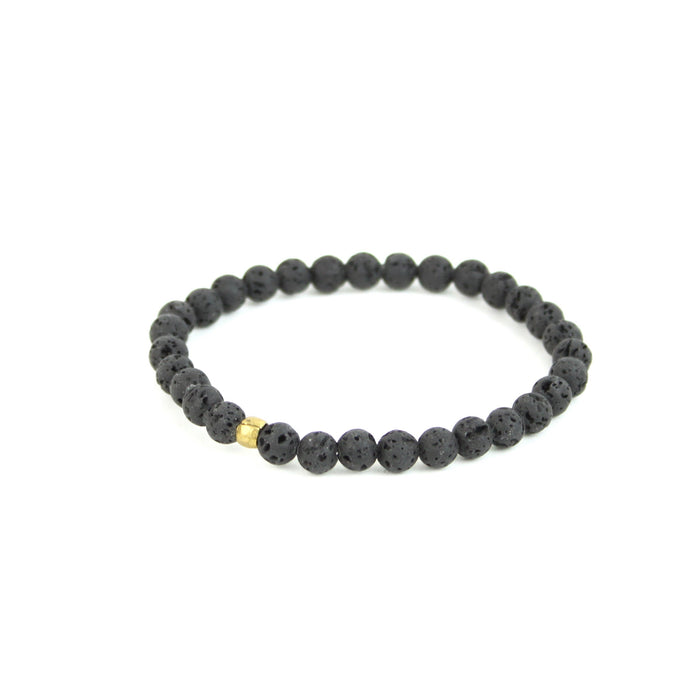 ESSENTIAL OIL | Diffuser Bracelet w/ Small Lava Bead