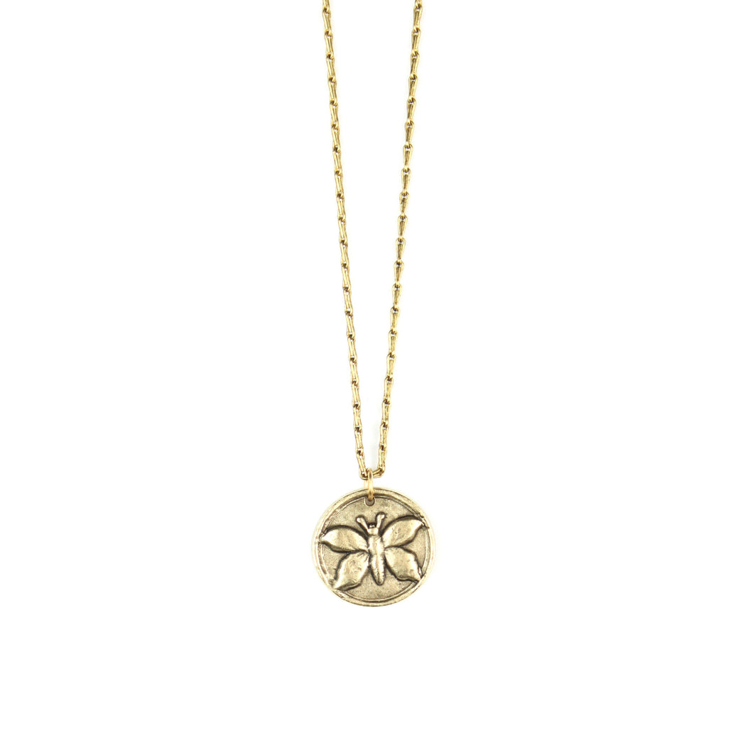 IN THE GARDEN Collection | Butterfly Necklace