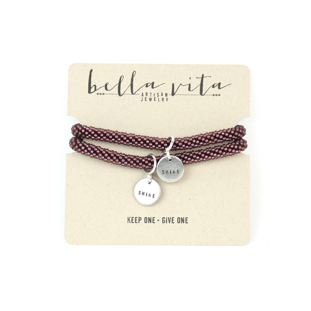 MANTRA Bracelet Set | Keep One Give One