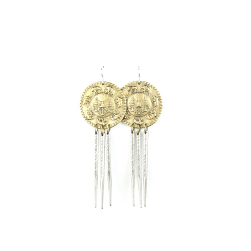 HATHI Earrings | Elephant Coin