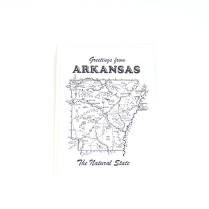 CARD | Arkansas Letterpress Card
