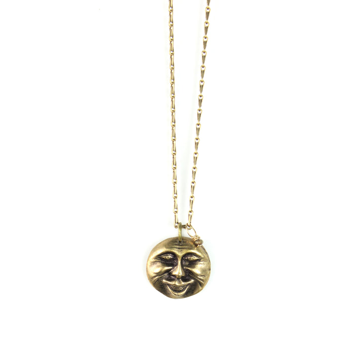 Necklace | Moon Face