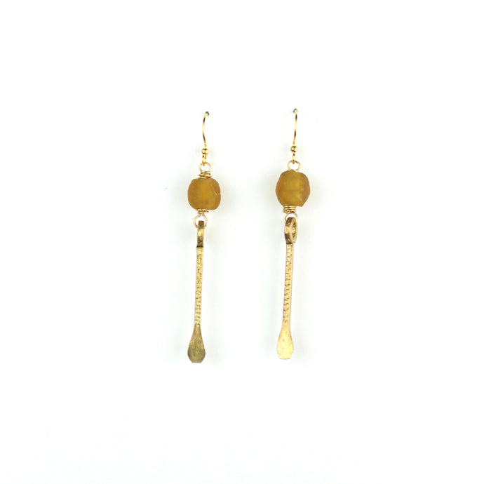 SOLSTICE Earring | Amber