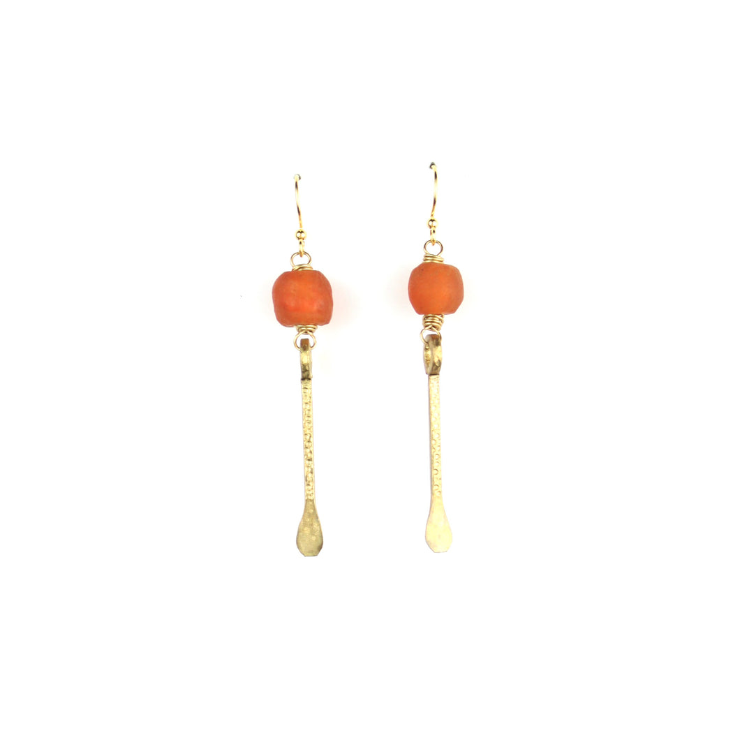 SOLSTICE Earring | Sunset Orange