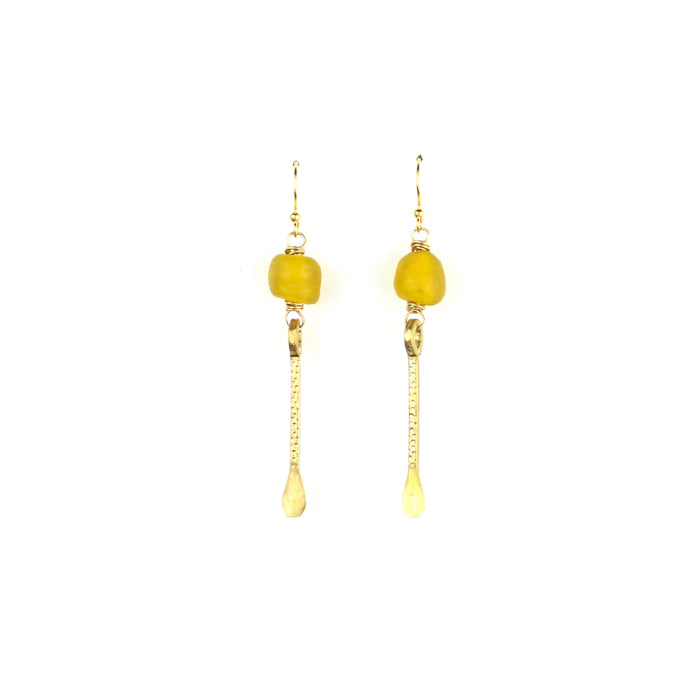 SOLSTICE Earring | Sunrise Yellow