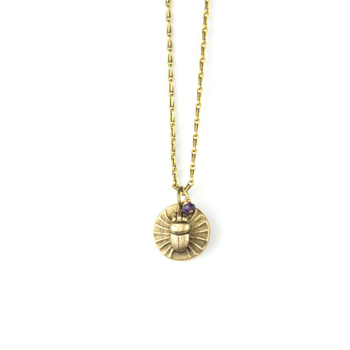 Necklace | Scarab