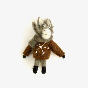 ORNAMENT | Felted Animals