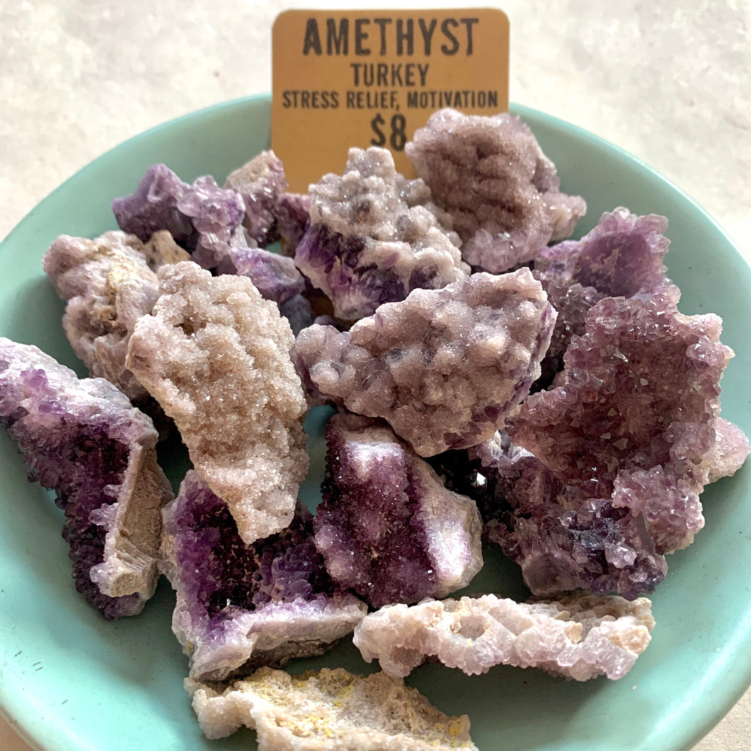 CRYSTALS | Rough Druzy Amethyst