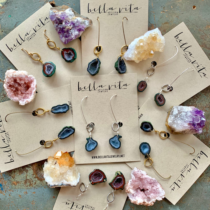 EARRINGS | Geode Earrings