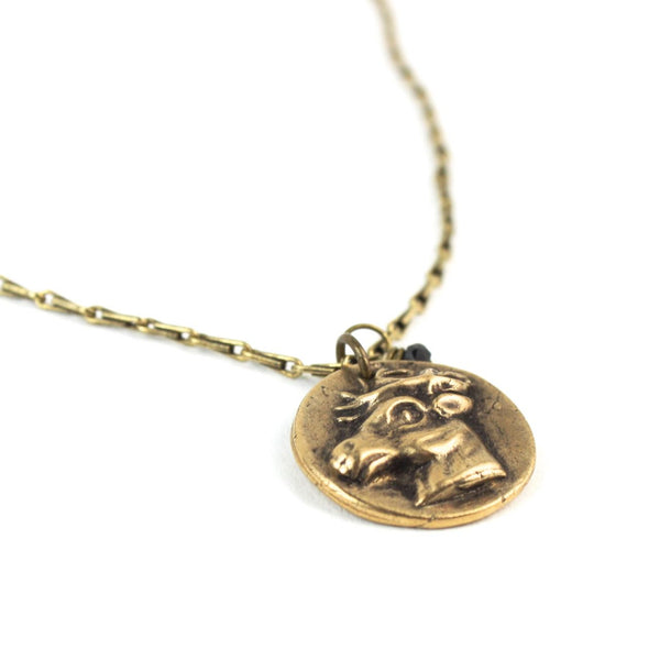Token | Stag Necklace