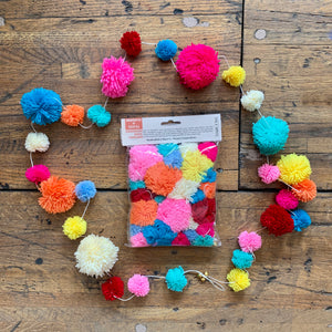 GARLAND | Wool Pom Pom Multi