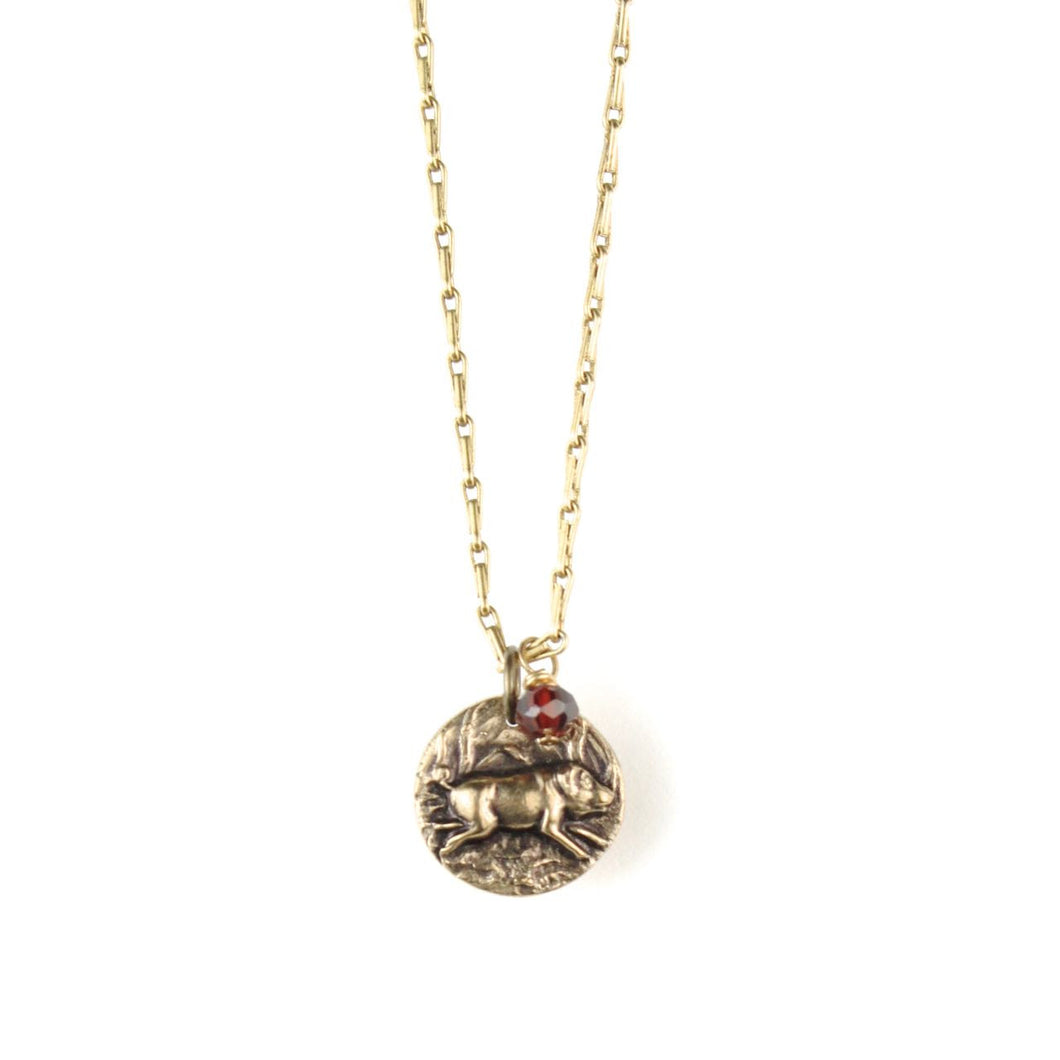 TOKEN Necklace | Pig