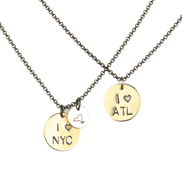PLACE | City Love Necklace