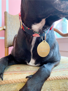 DOG TAG | Handstamped Dog ID Tag