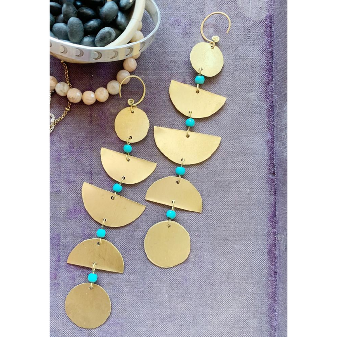 EARRINGS | Moon Phase Earrings