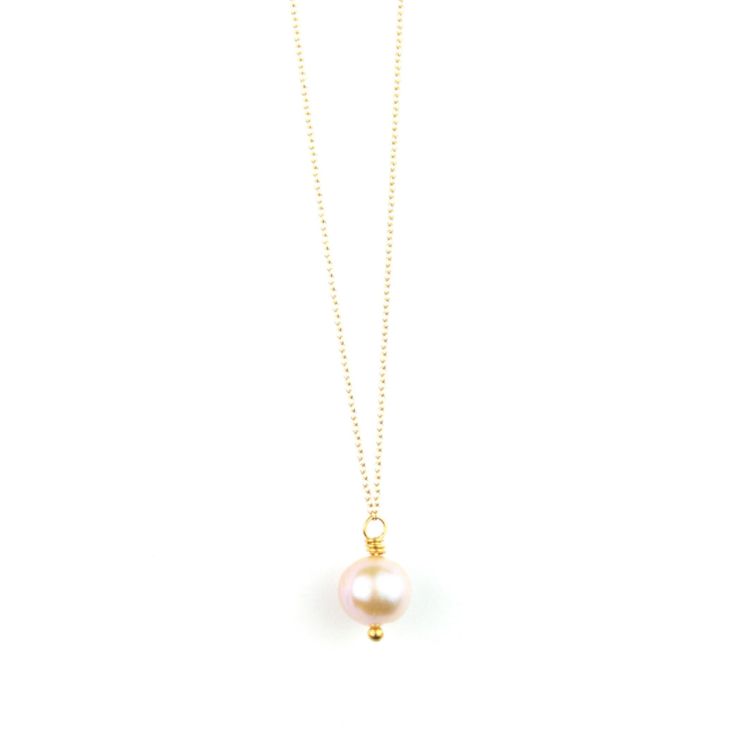PANTONE Pink Pearl Necklace