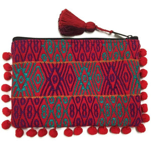 BAG | Maya Pom Pom Cosmetic Bag