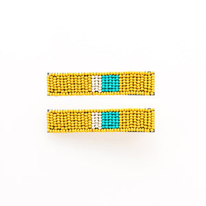 HAIR ACCESSORIES | Seed Bead Barrette Small