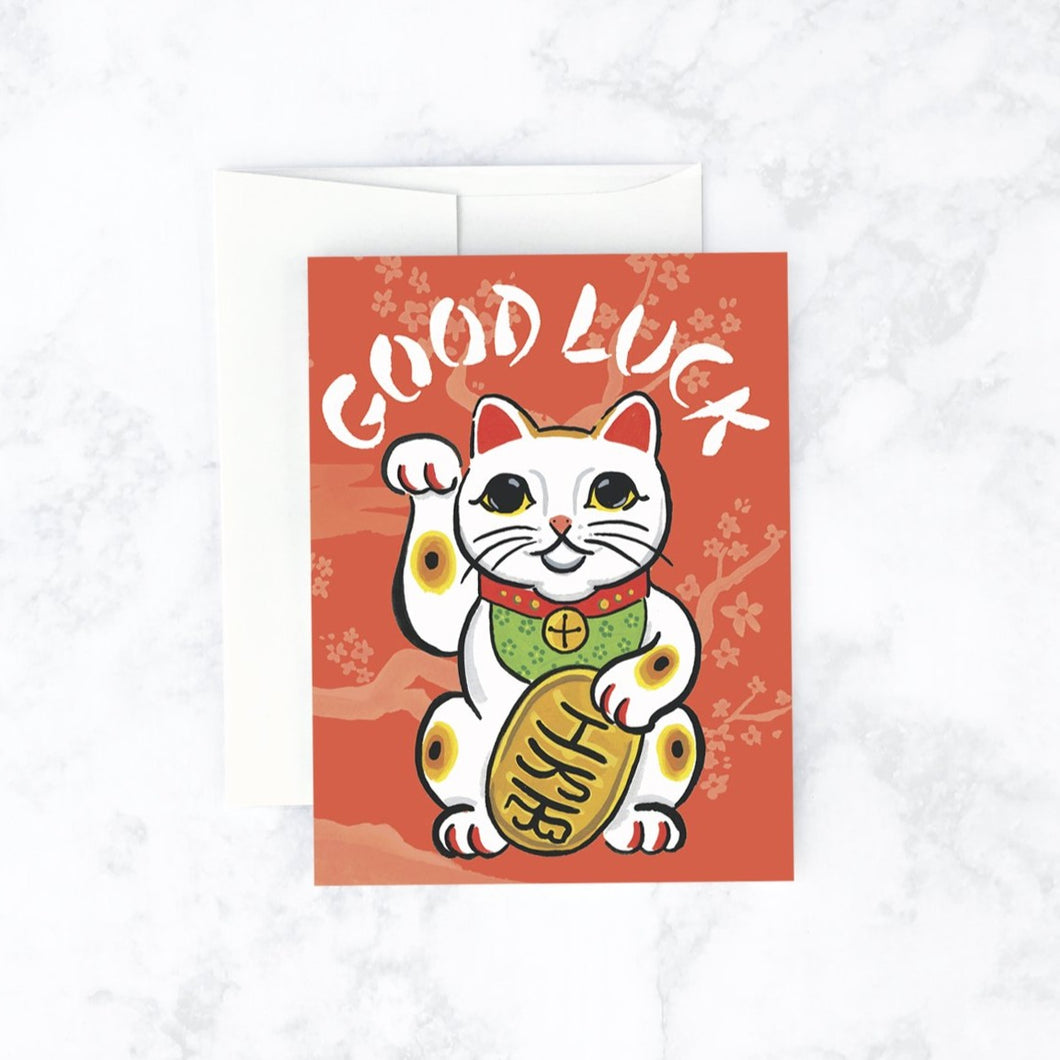CARD | Maneki Neko Cat