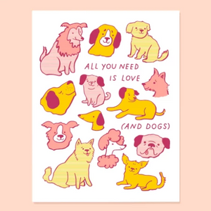 CARD | Love and Dogs