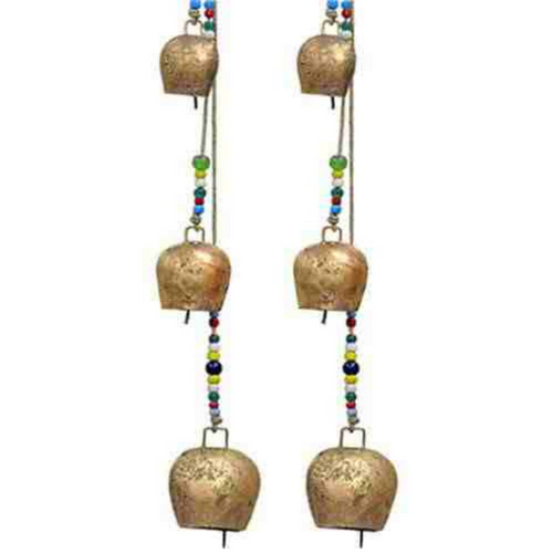 BELL | 4 Bell Chime on Hemp