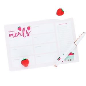 NOTE PAD | Weekly Meal Plan