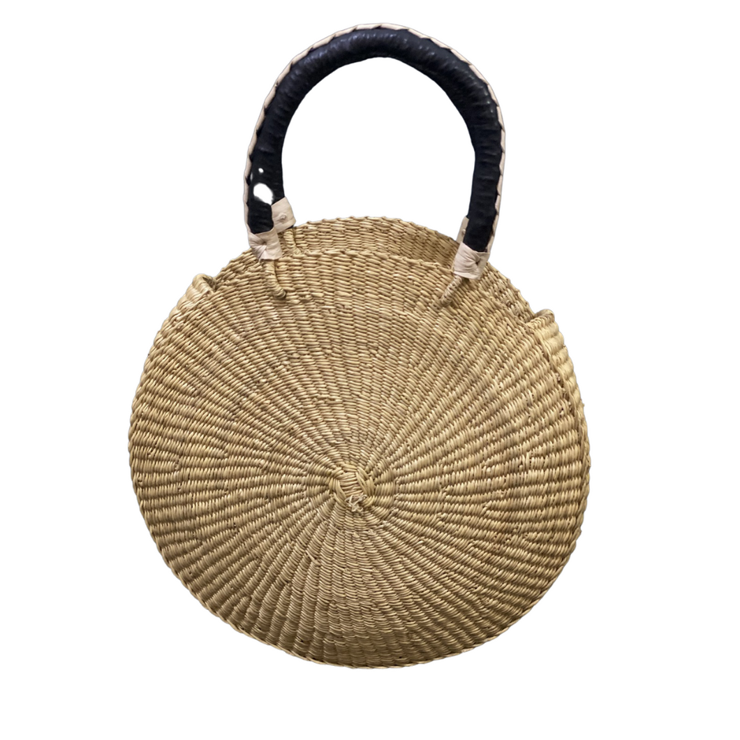 PURSE | Savanna Round Hand Purse