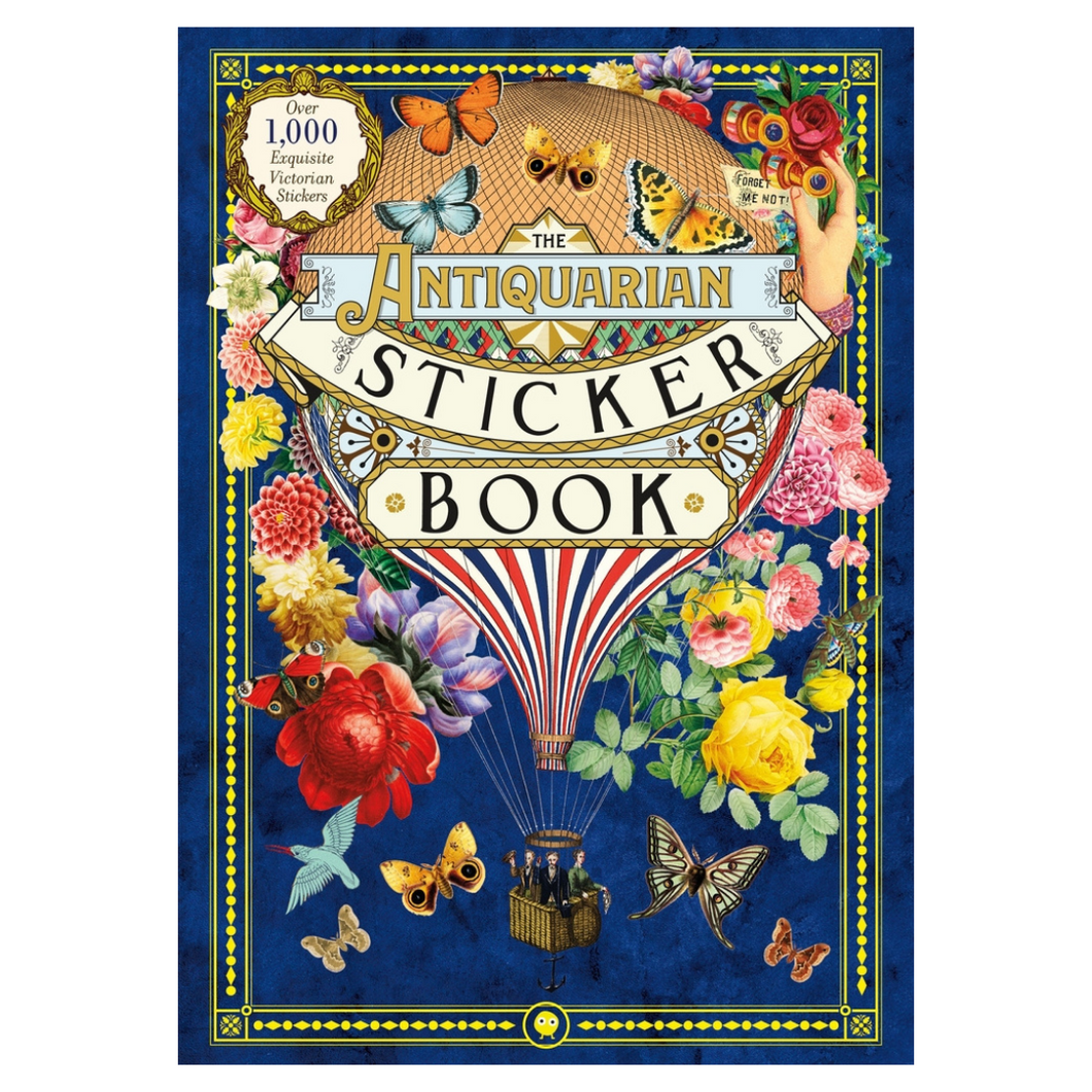 BOOK | The Antiquarian Sticker Book