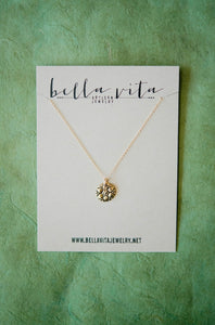 TINY TOKEN Necklace | Lacy Flower