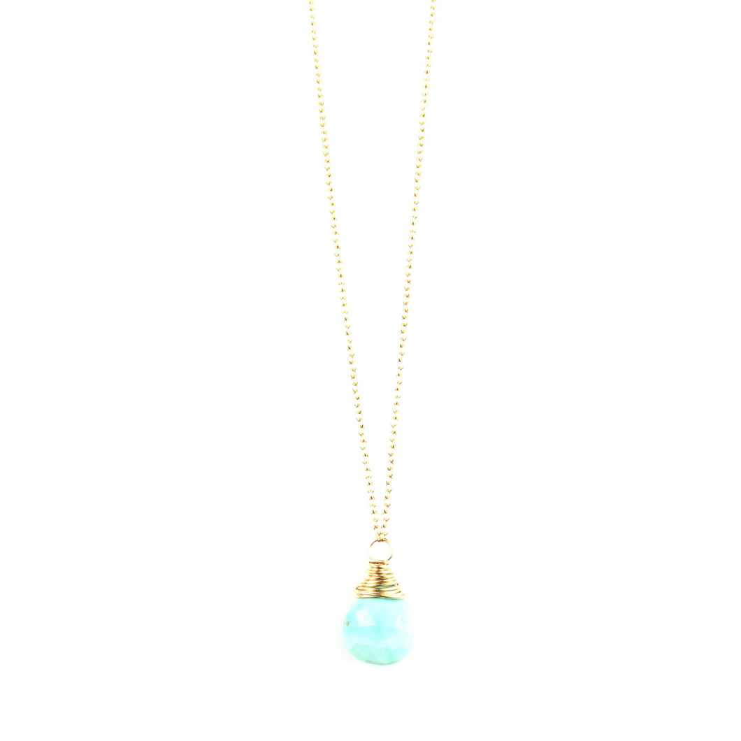 PANTONE Turquoise Necklace