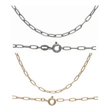 CHAIN BAR | Elongated Curb/Staple Chain