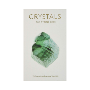 CARD DECK | Crystals, The Stone Deck