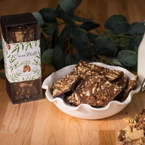 CHOCOLATE | Pecan Pie Bark