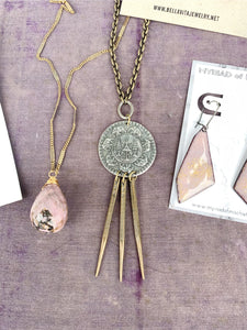 HATHI Necklace | Elephant Coin
