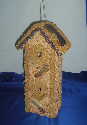 2 Story Bird House Bird Feeder