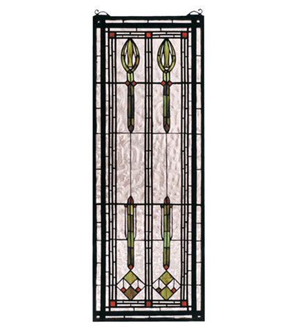 "11""W X 30""H Spear Of Hastings Stained Glass Window"