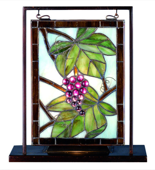 "9.5""W X 10.5""H Nappa Vintage Lighted Mini Tabletop Window"