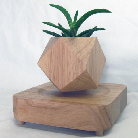 GEOMETRIC LEVITATING PLANTER