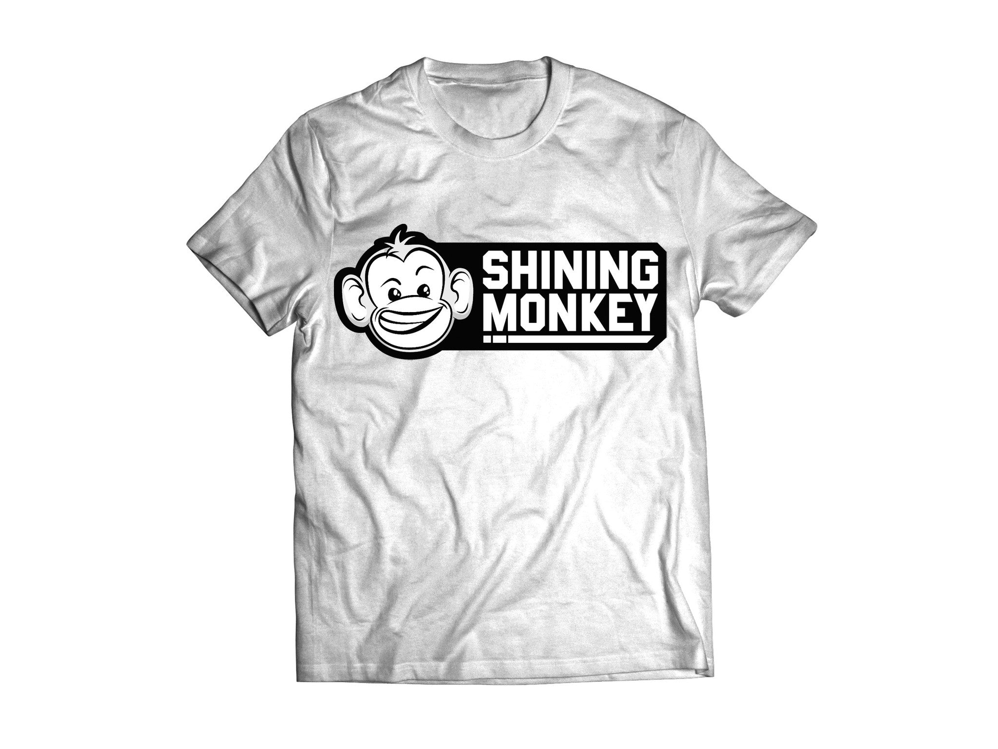 "Shine Logo T-shirt ""White"""