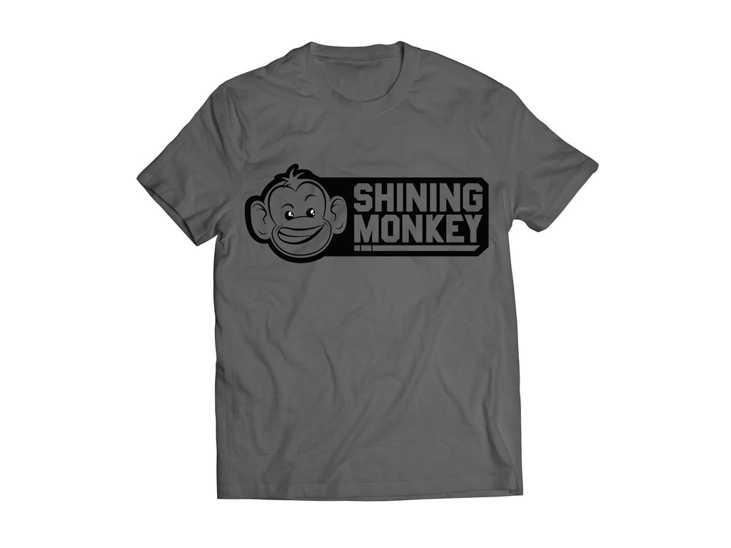 "Shine Logo T-shirt ""Grey"""